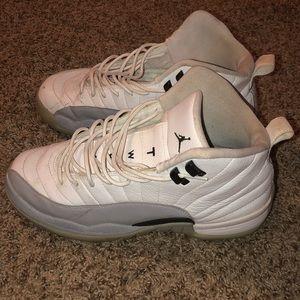 Retro Jordan 12 (Grey, White, Black)
